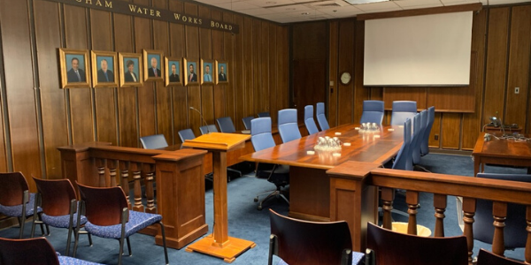 Photo of BWWB Board Room